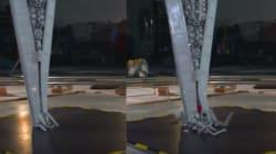 레고 슈퍼스타디스트로이어 부수기(슬로우모션