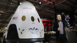 스페이스X 우주선의 비상탈출은 이렇게!