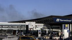 Vaste incendie à l'aéroport de Fiumicino: pas de