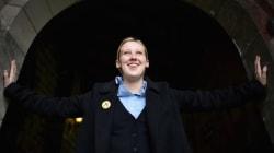 영국 총선에서 20세 대학생