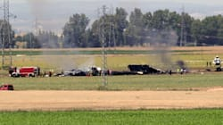 Un avion militaire s'écrase près de Séville, au moins 3