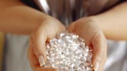 다이아몬드 위에서만 자라는 식물이