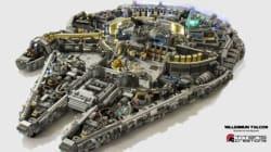 Ils ont construit un impressionnant vaisseau Star Wars en