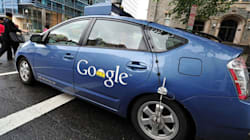 Les Google Cars ont déjà eu 11 accidents de la route... mais ne sont jamais