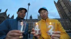 [화보] 옥시싹싹 피해자들 영국에서