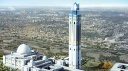 La Grande mosquée d'Alger construite à moitié, la décoration se