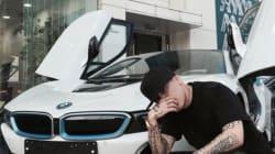 BMW i8 한국 1호차는
