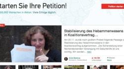 Missverständnis Online-Petitionen: Hier die