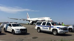 Un vol Air France atterrit à New York escorté par des avions de