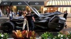 Que fait la Batmobile sur le tournage de Suicide