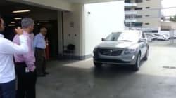 Δομινικανή Δημοκρατία: Αυτοκίνητο που παρκάρει μόνο του έπεσε με δύναμη πάνω σε