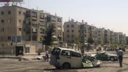 시리아정부군 '통폭탄' 공격 : 민간인 45명