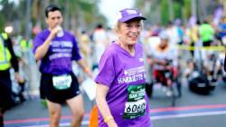 Σε ηλικία 92 ετών και 65 ημερών η Χάριετ Τόμσον τερματίζει στον μαραθώνιο του Σαν