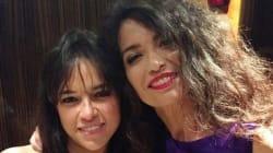 Michelle Rodriguez et Afef Jnifen en visite au musée du