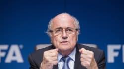 제프 블래터 FIFA 회장 전격 사임