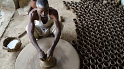 Pictures: The Dying Art Of Pottery In Jewar,