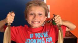 À 6 ans, malgré les moqueries, il laisse pousser ses cheveux pour les donner à des enfants