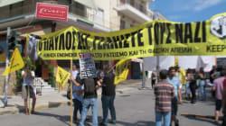 Έξω από τις φυλακές Κορυδαλλού στη συμβολή των οδών Λαμπράκη και Σολωμού κάποιοι ακόμη