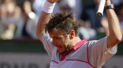 Wawrinka remporte Roland