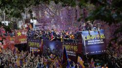 Barcelone festive et colorée pour honorer les héros de