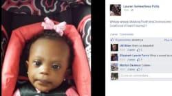 Des parents partagent des photos de leur enfant