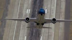 보잉 787 드림라이너의 놀라운 수직 이륙을