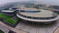 To Enterprise «προσγειώθηκε» στην Κίνα. Εντυπωσιακό κτίριο ρέπλικα του διαστημοπλοίου από τη σειρά Star