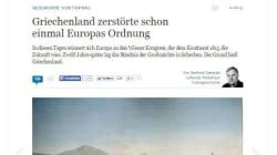Απάντηση στο ρατσιστικό παραλήρημα της γερμανικής εφημερίδας Die
