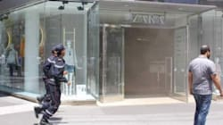 Incendie au magasin de Zara Maarif