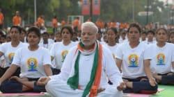 Journée du yoga: le Premier ministre indien prend lui-même la