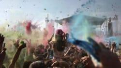Colour Day Festival: Υπέροχες φωτογραφίες από τον ξέφρενο χρωματοπόλεμο στο
