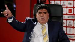 Diego Maradona candidat à la présidence de la Fifa