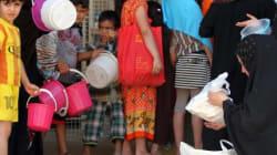Irak: plus de 3 millions de personnes déplacées en 18