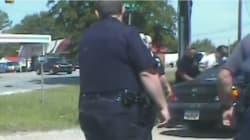 La vidéo montrant l'arrestation du tueur de Charleston diffusée par la police