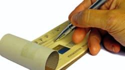Entrée en vigueur du paiement par chèque dès le 1e juillet