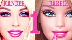 Δείτε μια γυναίκα να μεταμορφώνεται σε ζωντανή Barbie μέσα σε 90