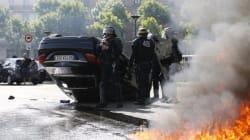 Βίαιες διαδηλώσεις στους δρόμους του Παρισιού - Οι οδηγοί ταξί αντιτάσσονται στην εφαρμογή