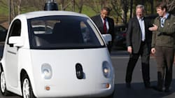La voiture autonome de Google sur les routes de la Silicon Valley