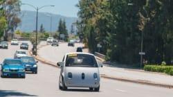 구글 무인차 신모델 도로주행