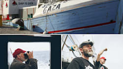 La flottille de la Liberté vogue vers Gaza avec Moncef Marzouki, un député algérien et un député arabe israélien à