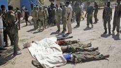 알샤바브 소말리아 아프리카연합 기지 공격...30명