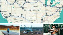 Le road trip de Sidi-Omar Alami, 20 ans, qui a parcouru les Etats-Unis d'est en
