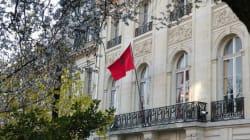 Un sit-in devant l'ambassade du Maroc à Paris en soutien aux deux jeunes filles