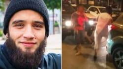 Un homme présenté comme salafiste affiche son soutien à la victime de