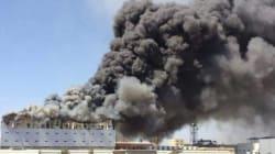 Bordj Bou Arreridj: incendie dans l'entrepôt du groupe Benhamadi, des milliers de climatiseurs Condor