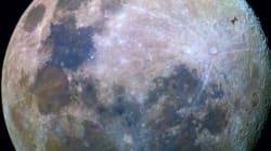 일반인이 달 앞으로 ISS가 지나가는 사진을
