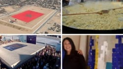 Toile XXL, omelette pantagruélique, matelas géant... Retour sur les records marocains