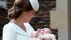 Η μικρή πριγκίπισσα Charlotte βαπτίστηκε και ντύθηκε καλύτερα από