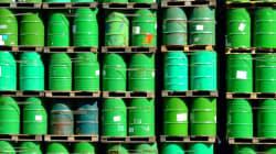 Le pétrole en baisse en Asie, le Brent sous les 60