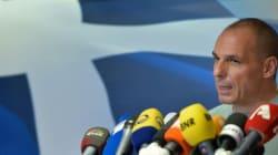 Yanis Varoufakis, le ministre des finances grec, annonce sa